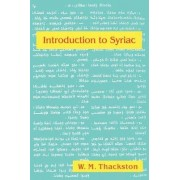 An Introduction to Syriac by W. M. Thackston