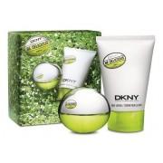 DKNY Be Delicious Woda perfumowana 30ml spray + Balsam do ciała 100ml