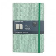 Moleskine Limited Edition Blend Collection Notebook, Large, Ruled, Green (5 X 8.25)