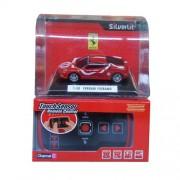Rocco Giocattoli 20731313 Power in Speed - Ferrari GTB Fiorano teledirigido por infrarrojos (con luz, escala 1:50)
