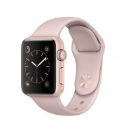 Pametni sat APPLE Watch Series 1, 38mm Rose Gold Aluminium Case with Pink Sand Sport Band