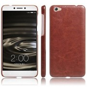 First 4 Cover For Vivo V5 Leather Back Cover (Brown)