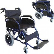 sedia a rotelle / carrozzina da transito pieghevole per disabili - lar