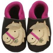 Pololo Polly braun 1-21-621, Pantofole ragazza