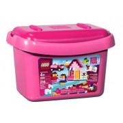 LEGO Bricks & More Pink Brick Box 216pieza(s) - juegos de construcción (Multi)