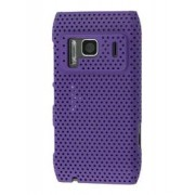 Nokia N8 Mesh Back in-Case - Microsoft / Nokia Hard Case (Purple)