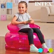 Intex 48509 - Poltroncine Baby Trasparenti, 66 x 42 cm, Colori Assortiti