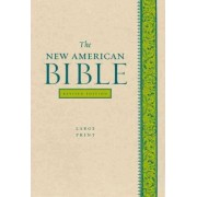 The New American Bible Revised Edition, Large Print Edition by Confraternity of Christian Doctrine