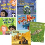 Learn at Home:Learn to Read at Home with Bug Club: Pink Pack Featuring Trucktown (Pack of 6 Reading Books with 4 Fiction and 2 Non-fiction) by Catherine Baker