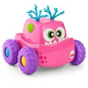Fisher Price Press and Go Vehicle, Multi Color