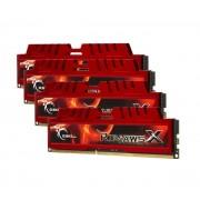 DDR3 32GB (4X8) F3-10666CL9Q-32GBXL