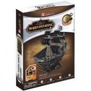 Cubic Fun 3d Puzzle - The Queen Anne's Revenge - Blackbeard's Ship (MC106h)