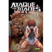 Ataque a los titanes, Antes de la caída 1 by Hajime Isayama