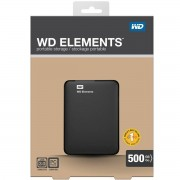 "Hard disk extern Western Digital Elements 500GB 2.5"" USB 3.0 black"