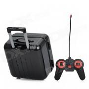 ABS 2-CH Mini R / C Trolley / Valise Model Toy w / Remote Control - Noir