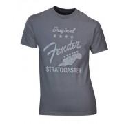 "Fender T-Shirt """"Stratocaster"""" Grey XL"