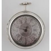 Stříbrné kapesní hodinky Malson London