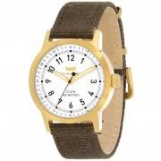 Vestal Mens ABC3C04 Alpha Bravo Canvas Analog Display Japanese Quartz Brown Watch