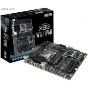 Asus X99-WS/iPMi X99 Chipset LGA 2011-v3 Motherboard