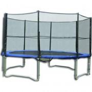 Trambulin védőhálóval - 244 cm
