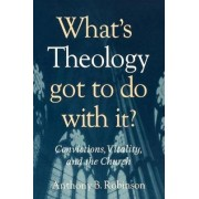 What's Theology Got to Do with it? by Anthony B. Robinson