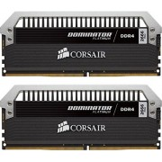 Corsair Dominator Platinum CMD8GX4M2B3466C18 Kit di Memoria RAM da 8GB, 2x4GB, DDR4, 3466 MHz, CL16, Nero