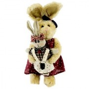 Boyds Bears Plush EMILY WITH ELLIE SPRING 2012 Fabric Country Rabbit 915034