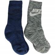 Sosete unisex Nike Knit-in Gfx 2Ppk SX5403-901