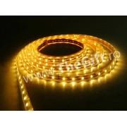 Banda flexibila cu LED-uri de 5 m (culoare galbena)