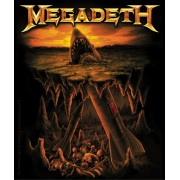 Licenses Products Megadeth Missle Shark Sticker