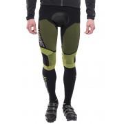 X-Bionic Biking Effektor - Cuissard long à bretelles Homme - Long jaune/noir S Cuissards longs
