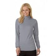 Trigema Damen Langarm Ski/Sport-Rolli Größe: XXL Material: 100 % Baumwolle, Ringgarn supergekämmt Farbe: cool-grey