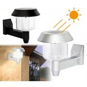 45957 Applique 15 cm per esterni lampada da parete led ad energia solare