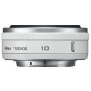 Obiectiv Foto NIKON 1 NIKKOR 10mm f/2.8 (Alb)
