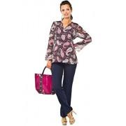 Frida bluzka (różowo-czarny)