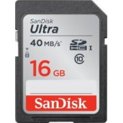 Card de Memorie SanDisk Ultra 16GB SDHC Clasa 10