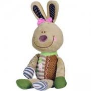 Плюшена образователна играчка Зайче - 1271 Babyono, 9070122