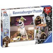 Ravensburger Italy 94134 - Puzzle Pets, 3 X 49 Pezzi, Multicolore