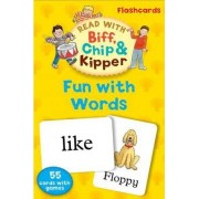 Oxford Reading Tree Read with Biff, Chip, and Kipper: Fun with Words Flashcards by Roderick Hunt