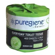 Puregiene Select Everyday Toilet Paper 400sheet 2ply Ctn/48
