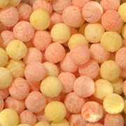 Orange & Lemon Fizz Balls Sweets 100G
