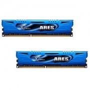 Mémoire LONG DIMM DDR3 G.Skill DIMM 16 GB DDR3-1866 Kit F3-1866C10D-16GAB, série Ares 16 GB CL10 10/11/30 2 barettes