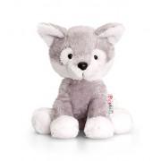 Keel Toys - Pupazzo a forma di Husky da 14 cm, serie Pippins