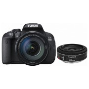 Canon EOS 700D kit (18-135mm IS STM, 40mm STM)