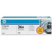 HP 36A CB436AF LaserJet Toner Cartridge (Black, Pack of 2)