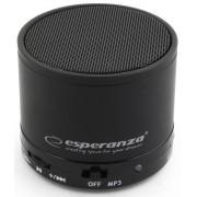 Boxa portabila Bluetooth Esperanza EP115K Ritmo neagra