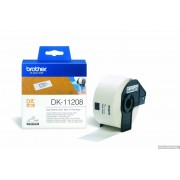 BROTHER DK Tape 38mm Black on White, 400 labels per roll, for P-Touch (DK11208)