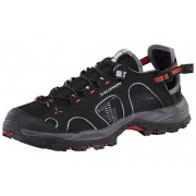 Salomon Techamphibian 3 Water Shoes Women black/dark cloud/papaya 38 Wassersportschuhe