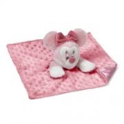 Gund My First Minie - Manta con Minnie Mouse de peluche, color rosa