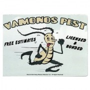 Breaking Bad Vamonos Pest Car Magnet